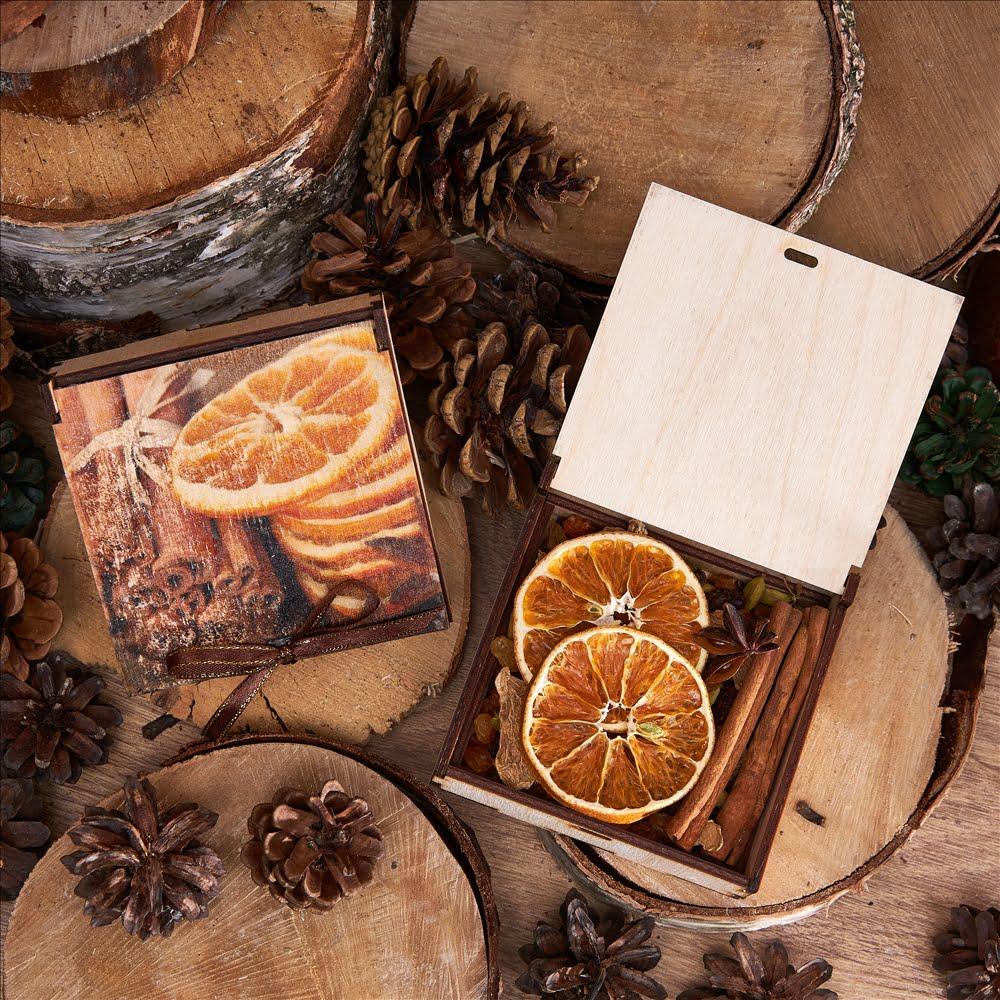 Подарочный набор «Глинтвейн с апельсином»
