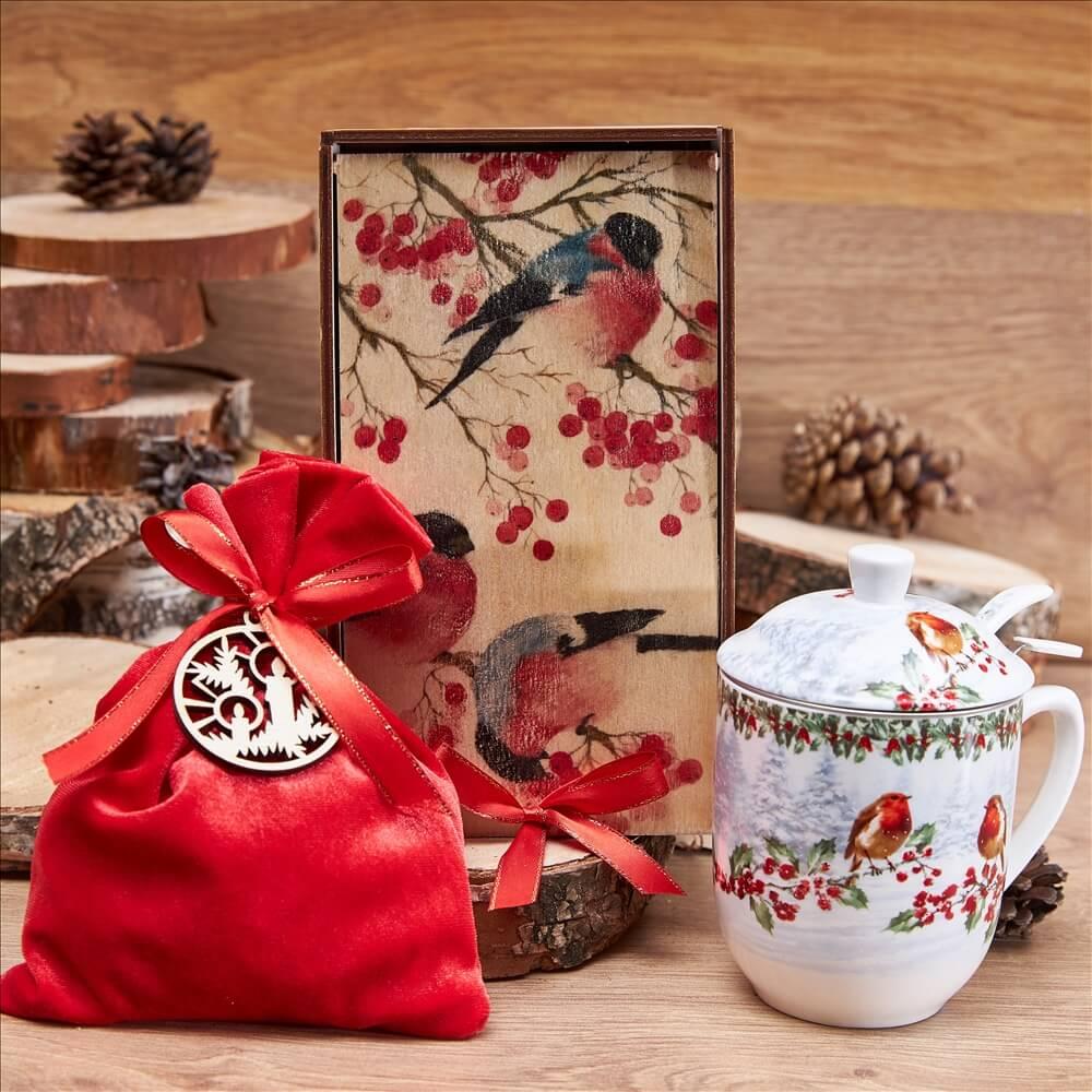 Подарочный набор «Снегири»