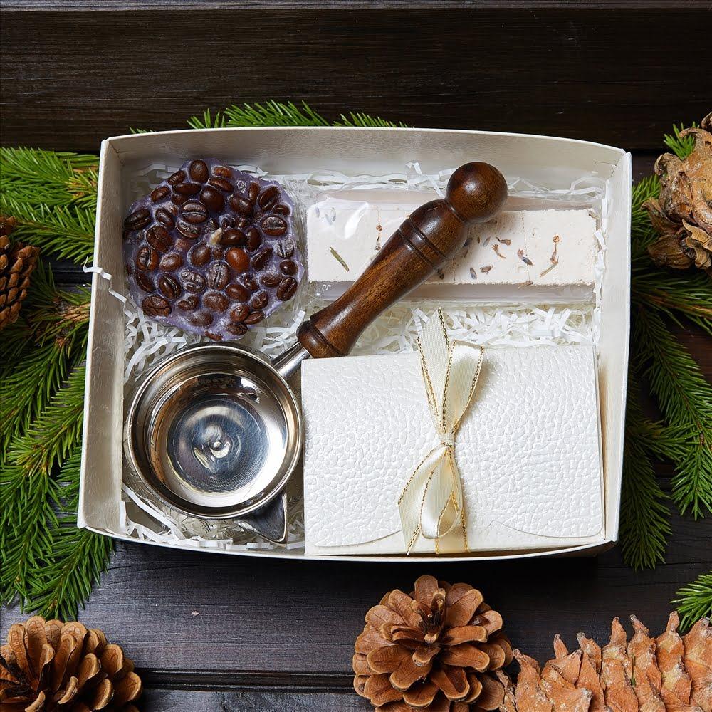 Подарочный набор «Кофе и свечи»