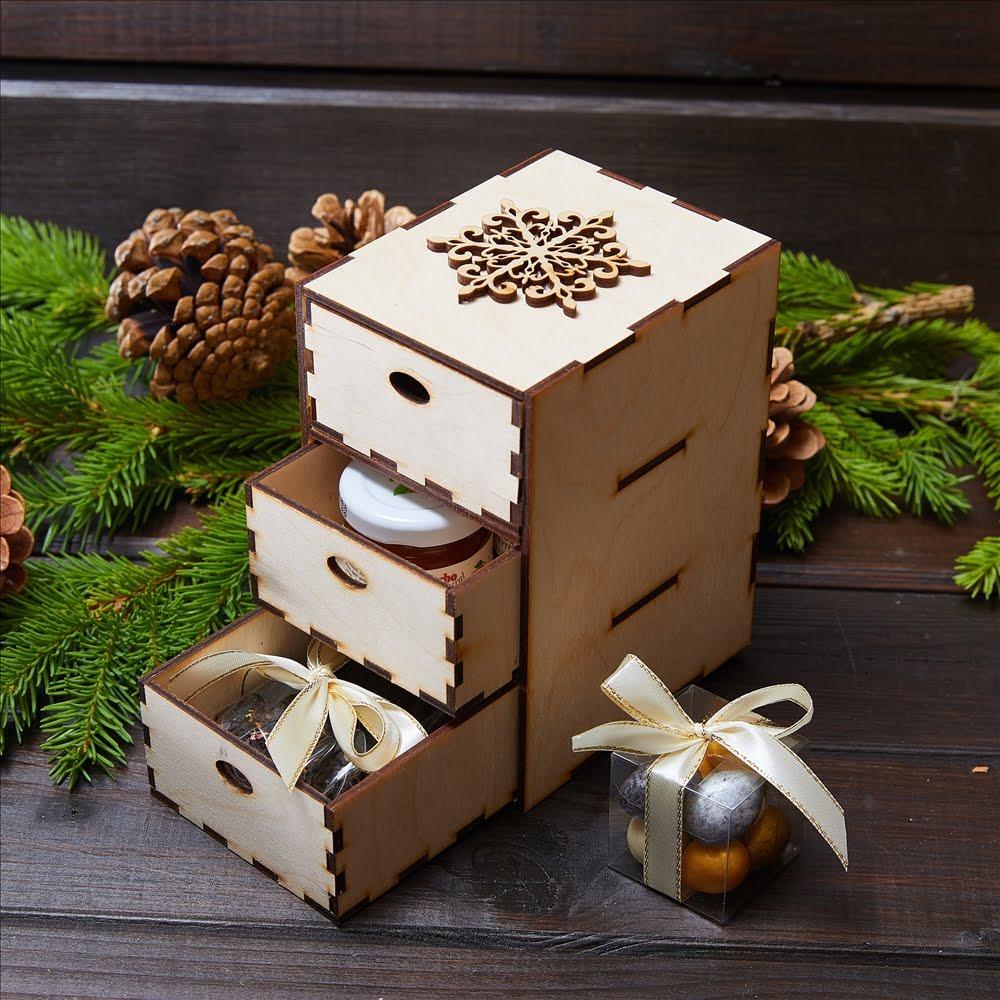 Подарочный набор «Зимний комод»