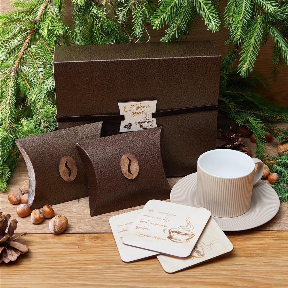 Подарочный набор «Литературный кофе»