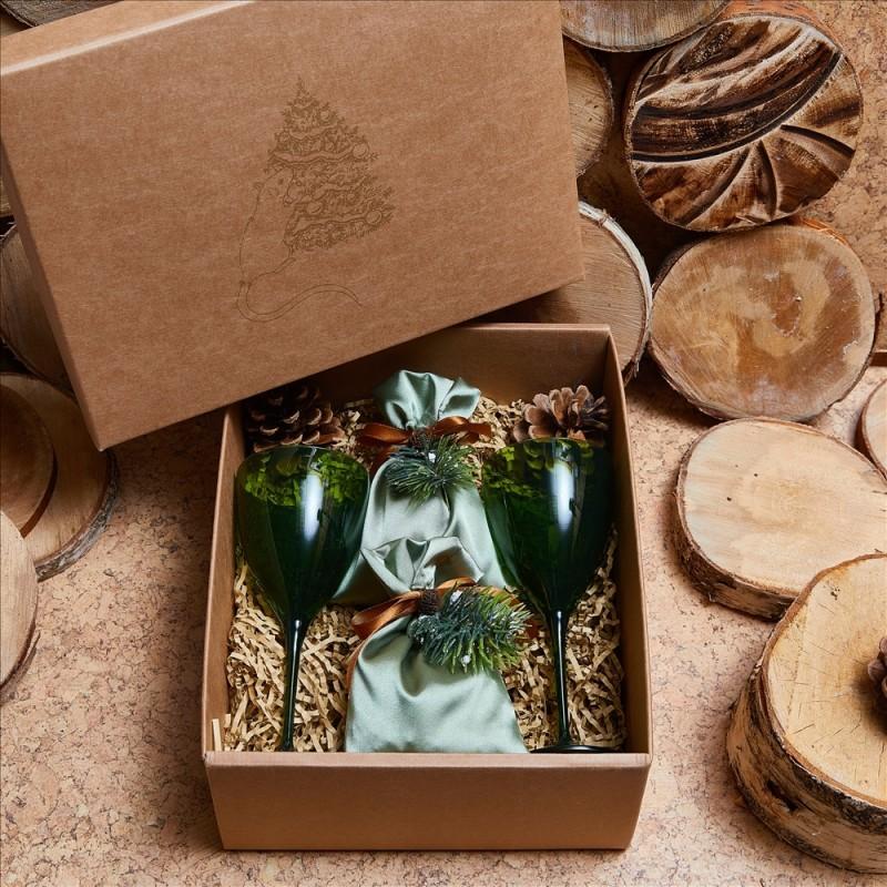 Подарочный набор «Еловые шишки»