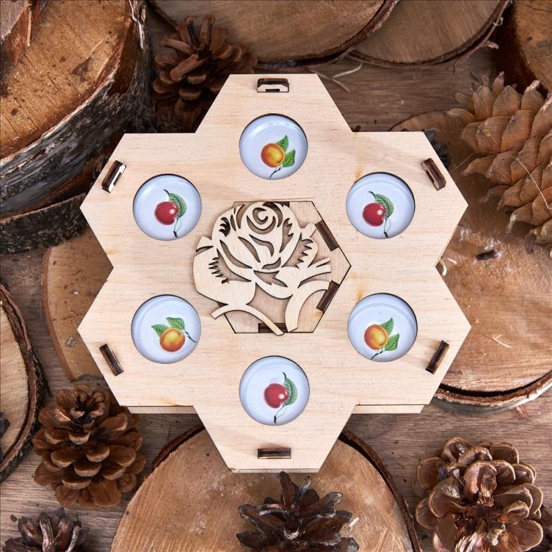 Подарочный набор «Медовые соты»