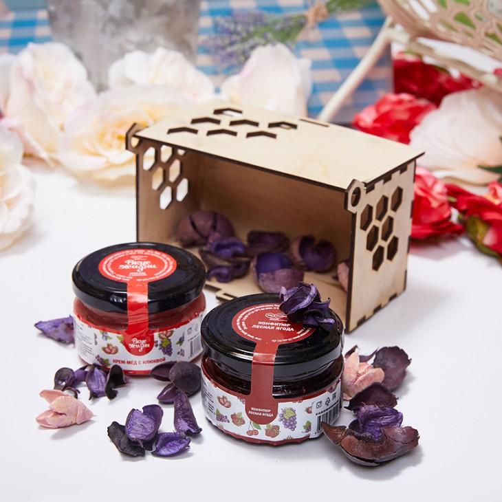 Подарочный набор с медом «Сладкое наслаждение»