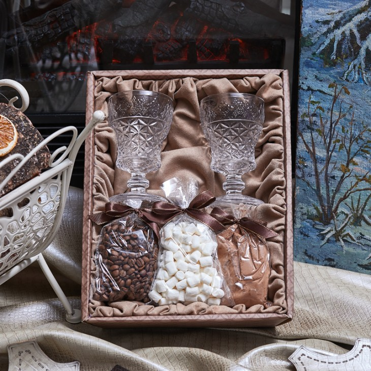 Подарочный набор «Горячий шоколад»