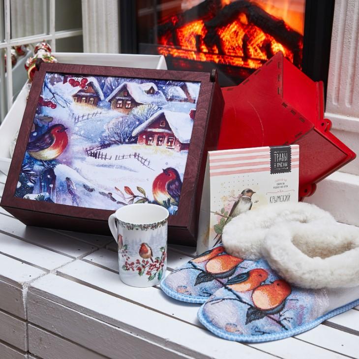 Подарочный набор «Снегирь»