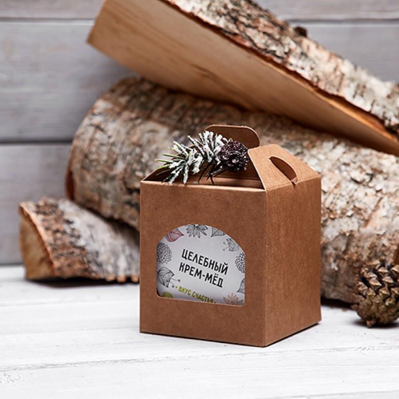 Подарочный набор «Целебный крем-мед»