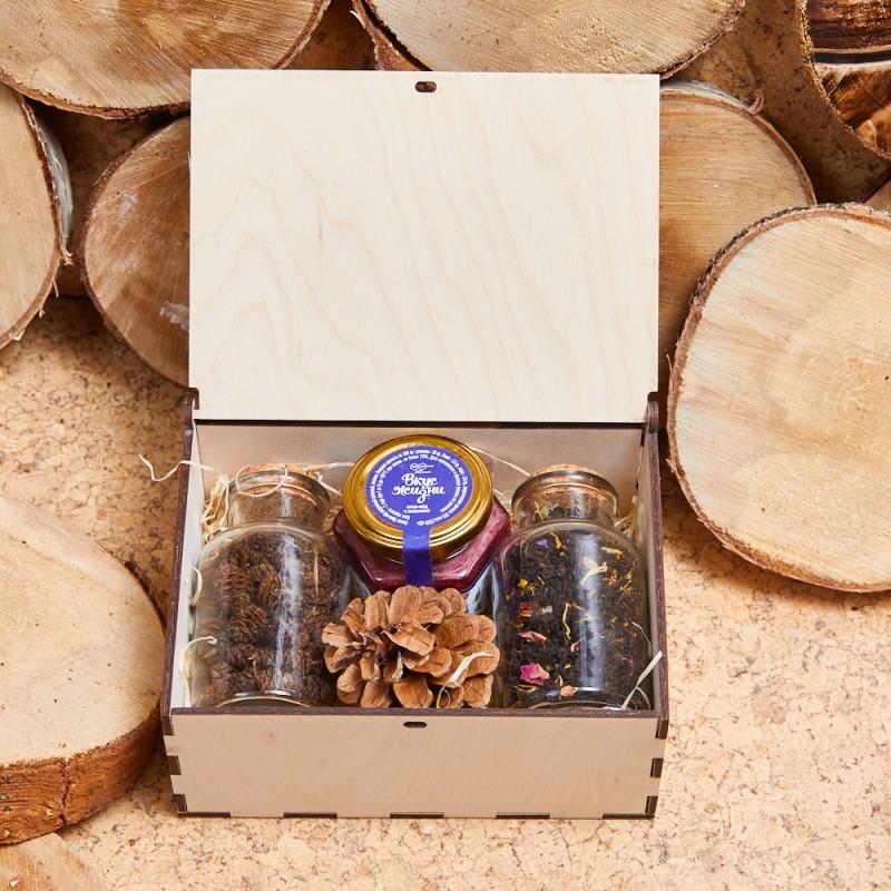 Подарочный набор «Чай с шишками»