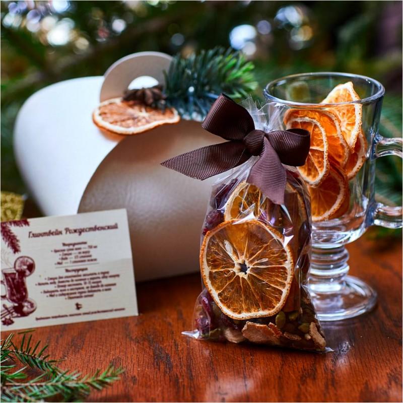 Подарочный набор специй для глинтвейна «Апельсинка»