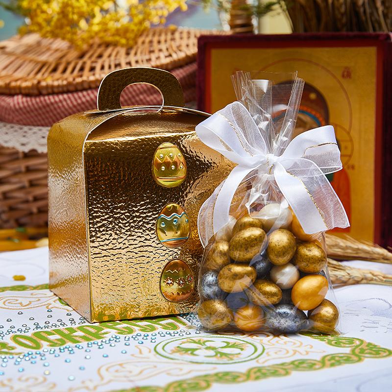 Подарочный набор «Пасхальное золото»