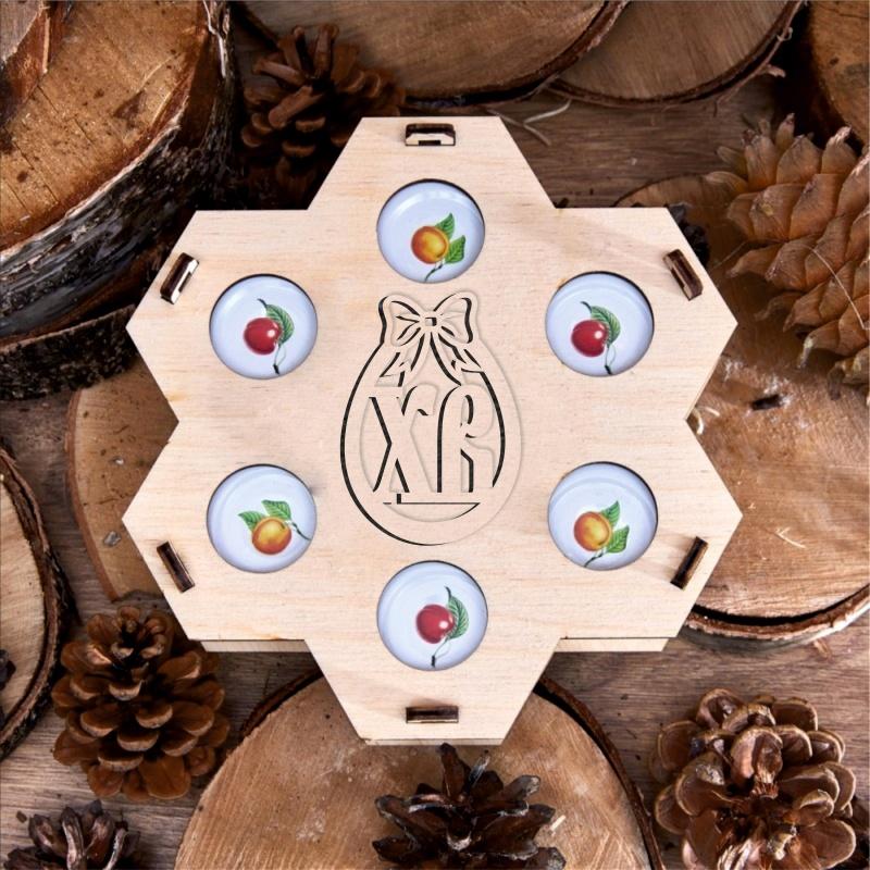 Подарочный набор «Пасхальные медовые соты»