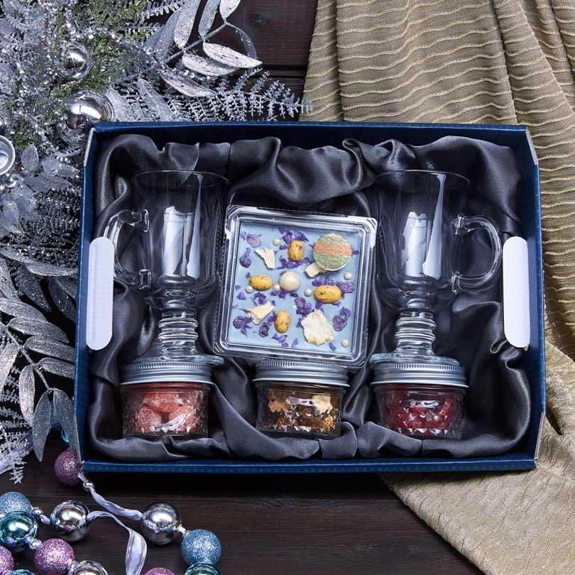 Подарочный набор «Зимняя фиалка»