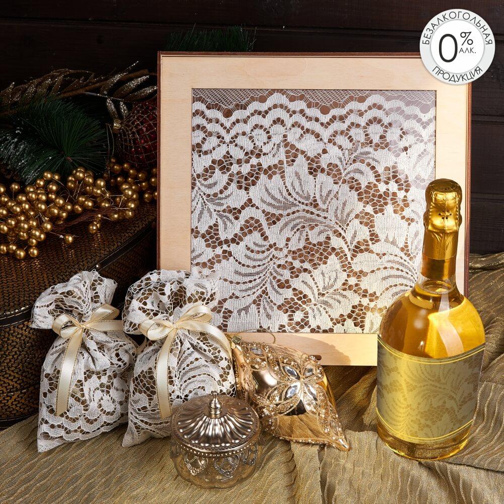 Подарочный набор «Зимнее кружево»