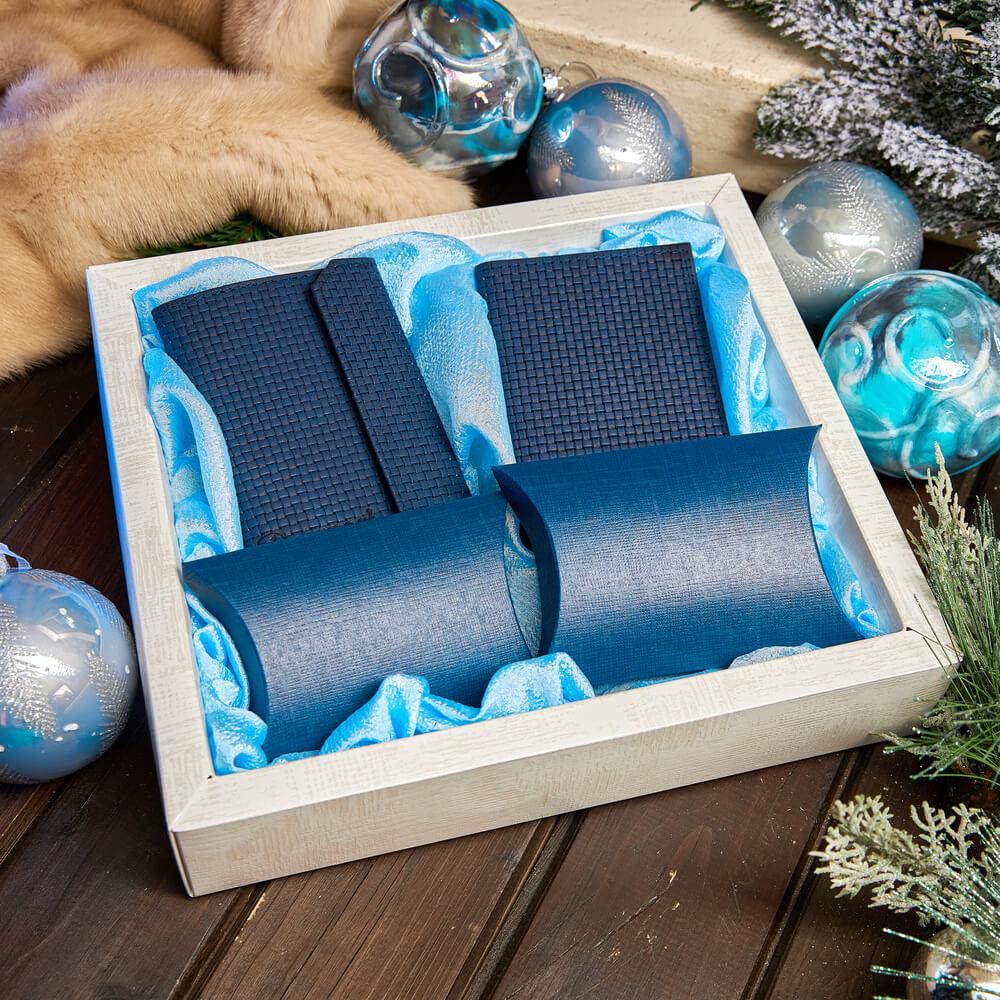 Подарочный набор «Синий иней»