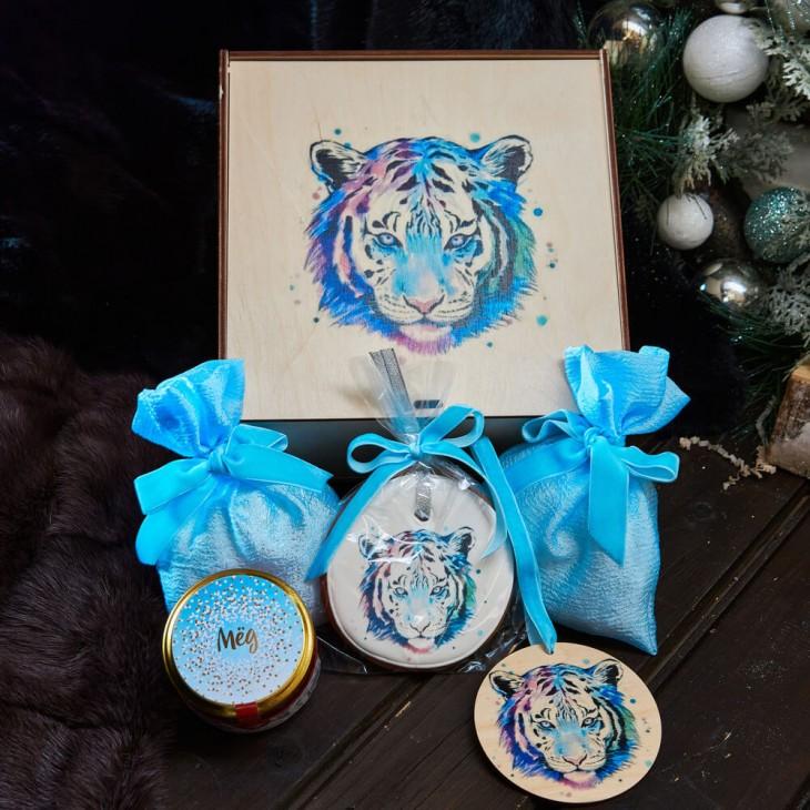 Подарочный набор «Голубой тигр»