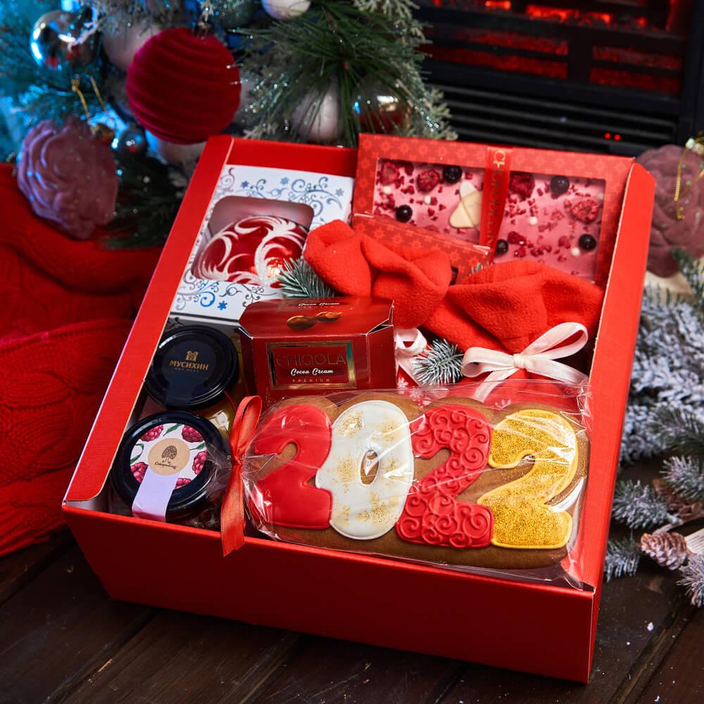 Подарочный набор «Красный иней»