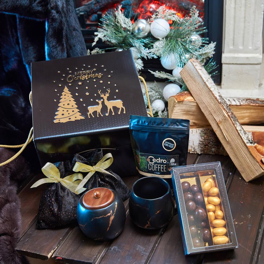 Подарочный набор «Золотой мрамор»