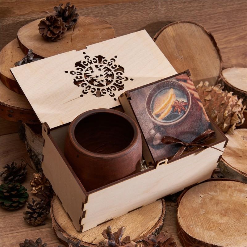 Подарочный набор «Глиняный глинтвейн»